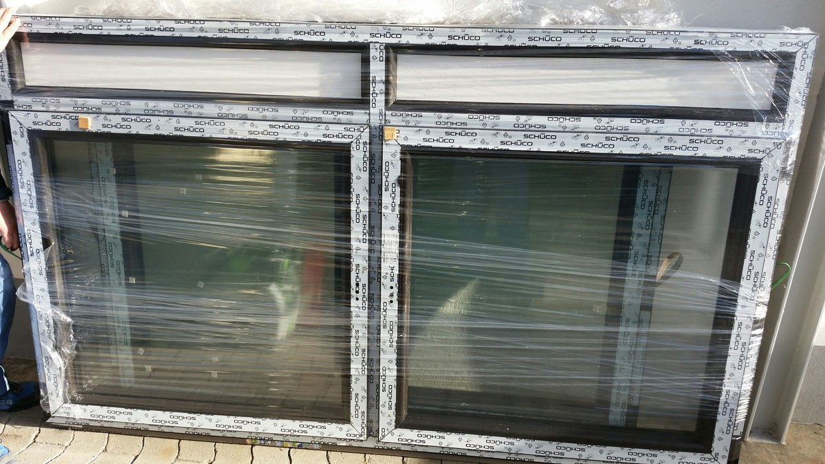 Sch co kunststofffenster 1710 mm x 1260 mm rz fenster for Kunststofffenster konfigurieren